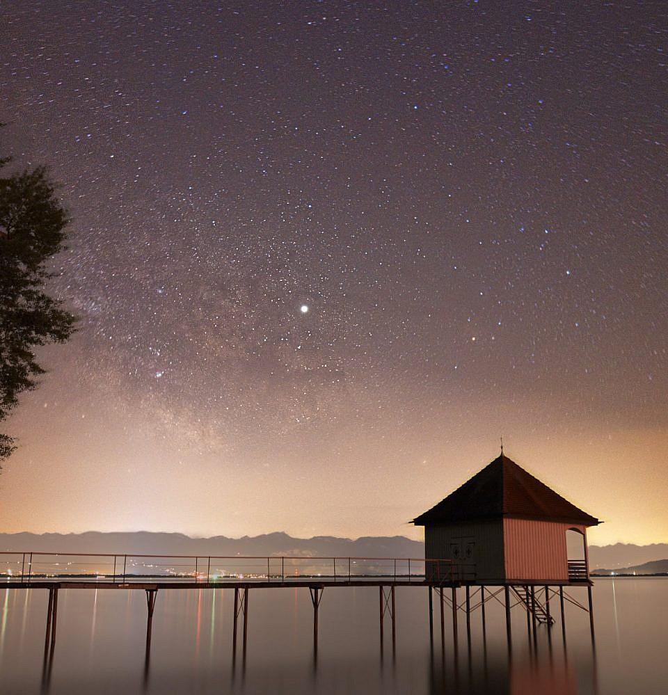 Neues Foto – Milchstraße über dem Bodensee