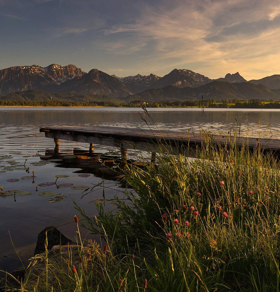 Neues Foto – Sonnenuntergang am Hopfensee