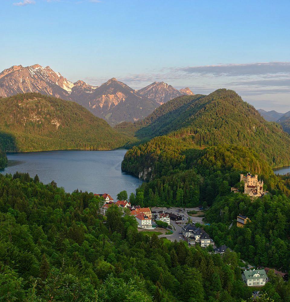 Neues Foto – Sunrise Burg Hohenschwangau