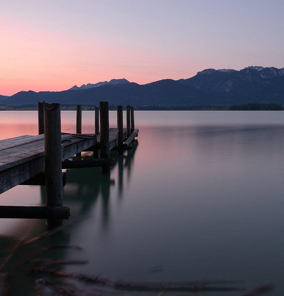Neues Foto – Sonnenaufgang Forggensee
