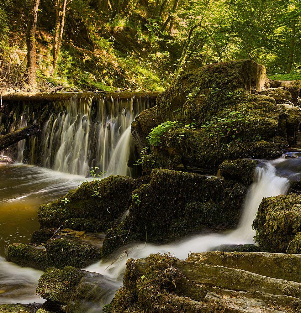 Wasserfall Baybachklamm
